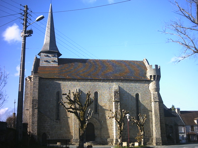 Photo du Monument Historique Eglise Saint-Sylvain situé à Bonnat