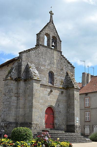Photo du Monument Historique Chapelle de l'Arrier situé à Bourganeuf