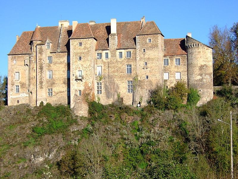 Photo du Monument Historique Château situé à Boussac