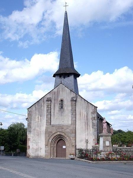 Photo du Monument Historique Eglise Saint-Avit situé à Cellette (La)