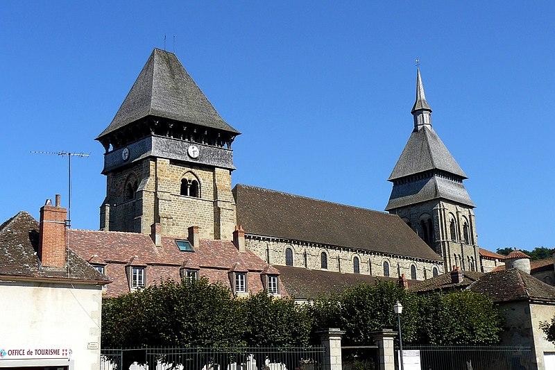 Photo du Monument Historique Eglise Sainte-Valérie situé à Chambon-sur-Voueize