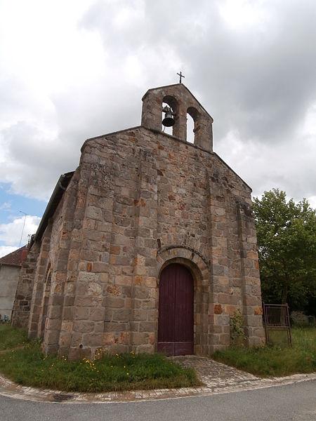 Photo du Monument Historique Eglise Saint-Martin de Tours situé à Chambonchard