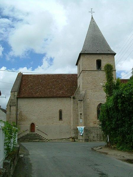 Photo du Monument Historique Eglise Saint-Etienne situé à Crozant