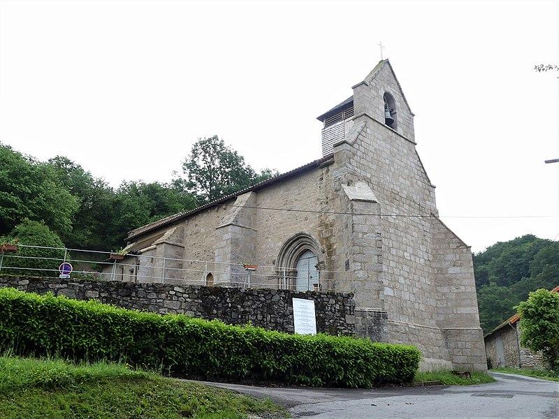 Photo du Monument Historique Eglise Saint-Martial et Saint-Blaise situé à Croze