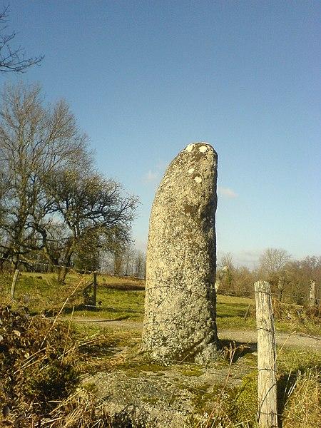 Photo du Monument Historique Borne milliaire dite La Pierre du Marteau situé à Le Donzeil