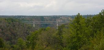Photo du Monument Historique Viaduc sur la Tarde situé à Evaux-les-Bains