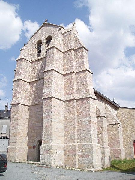 Photo du Monument Historique Eglise Saint-Etienne situé à Faux-la-Montagne