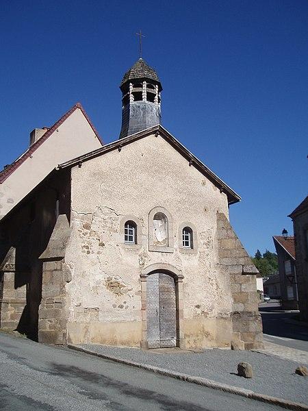 Photo du Monument Historique Chapelle dite Chapelle Bleue situé à Felletin