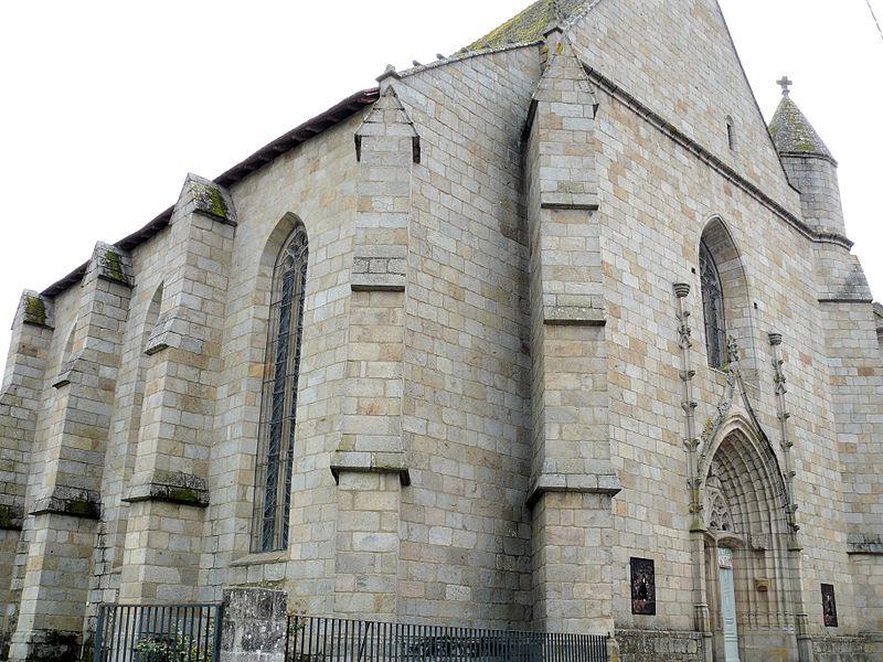 Photo du Monument Historique Chapelle Notre-Dame du Château situé à Felletin