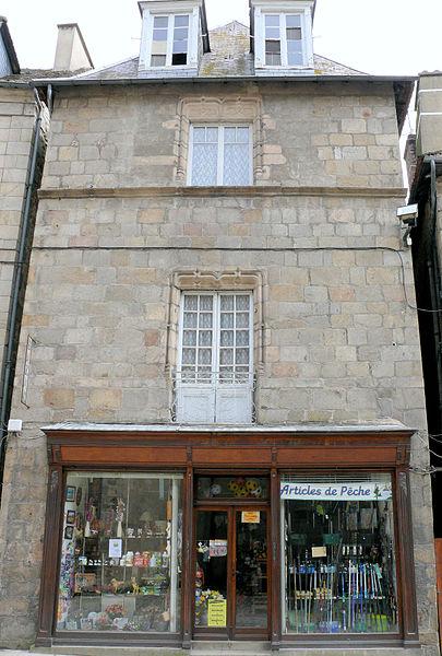 Photo du Monument Historique Immeuble situé à Felletin