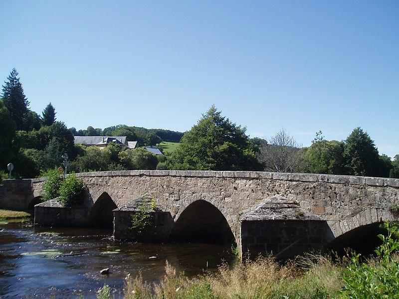 Photo du Monument Historique Pont Roby situé à Felletin