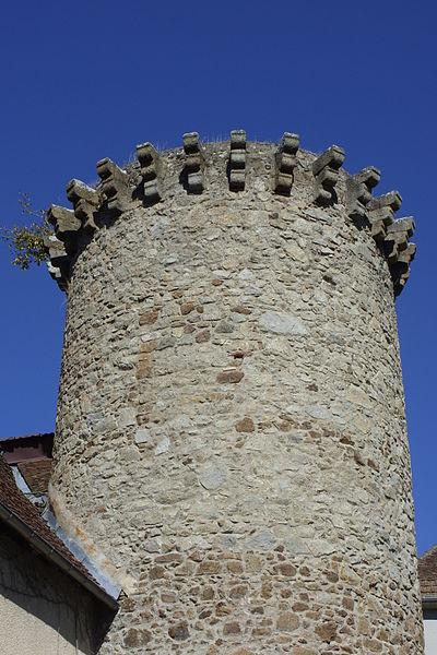 Photo du Monument Historique Ancienne tour de rempart situé à Felletin