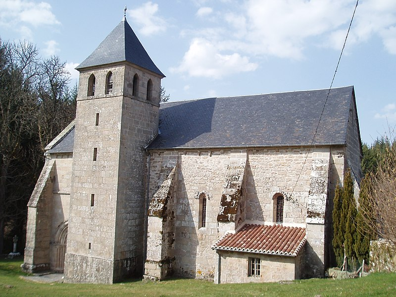 Photo du Monument Historique Eglise Saint-Martial situé à Gentioux-Pigerolles