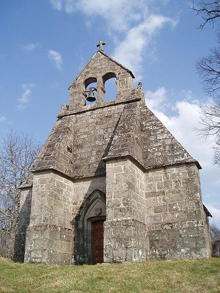 Photo du Monument Historique Eglise Sainte-Madeleine de Pallier situé à Gentioux-Pigerolles