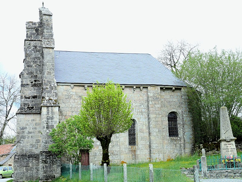 Photo du Monument Historique Eglise de l'Invention-des-Reliques-de-Saint-Etienne situé à Gentioux-Pigerolles