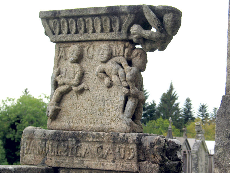 Photo du Monument Historique Monument funéraire de la famille Cacaud situé à Gentioux-Pigerolles