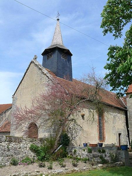 Photo du Monument Historique Eglise Saint-Nicolas des Forges situé à Gouzon