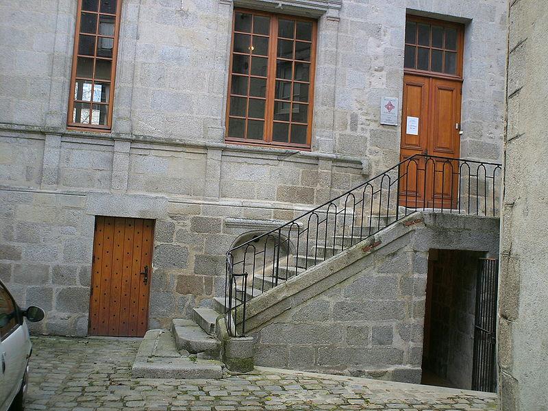 Photo du Monument Historique Ancien Présidial situé à Guéret