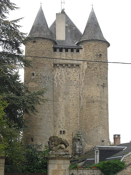 Photo du Monument Historique Château situé à Jouillat