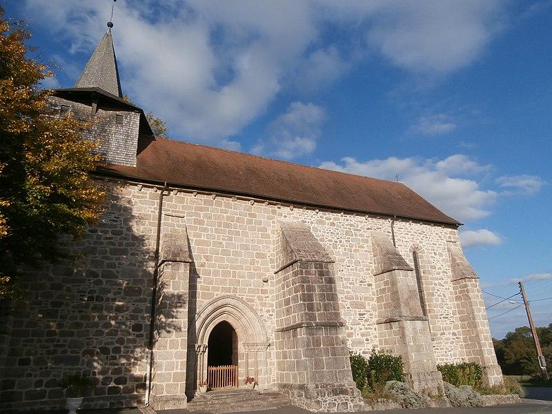 Photo du Monument Historique Eglise Saint-Sulpice situé à Ladapeyre