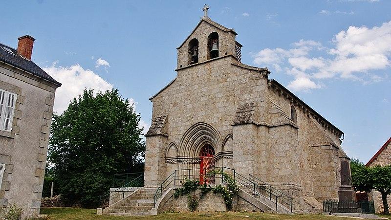Photo du Monument Historique Eglise Saint-Martial situé à Lioux-les-Monges