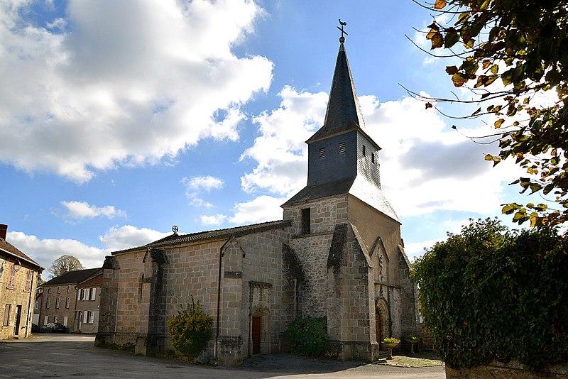 Photo du Monument Historique Eglise Saint-Pierre situé à Le Monteil-au-Vicomte