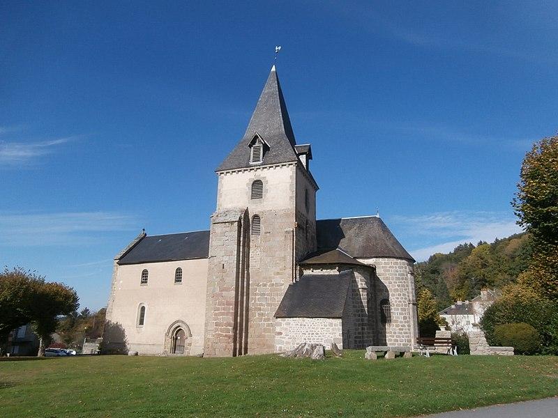 Photo du Monument Historique Eglise de la Nativité de la Très Sainte Vierge situé à Moutier-Rozeille