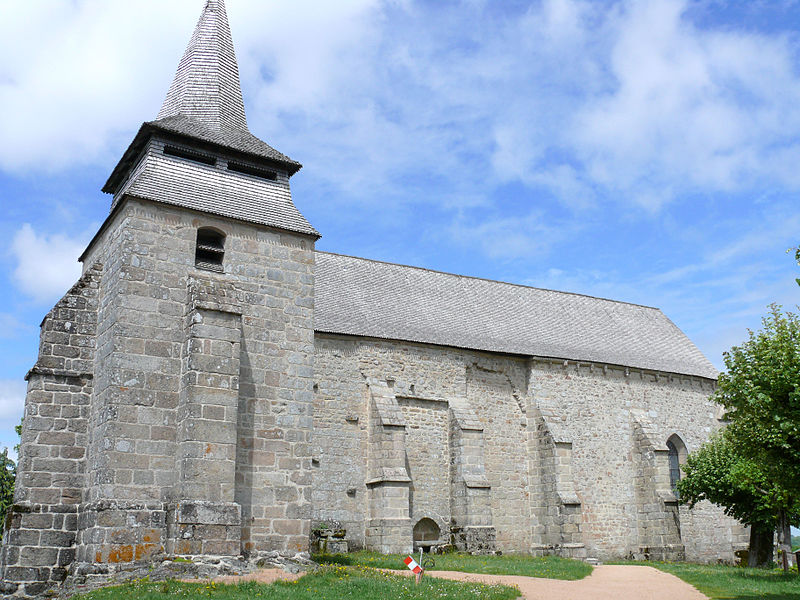 Photo du Monument Historique Eglise Saint-Pierre Saint-Paul situé à La Nouaille
