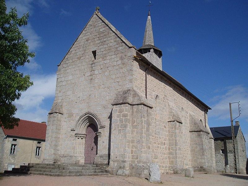 Photo du Monument Historique Eglise Saint-Thomas de Cantorbéry situé à Puy-Malsignat