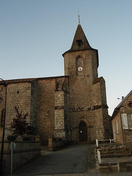 Photo du Monument Historique Eglise Saint-Germain situé à Royère-de-Vassivière