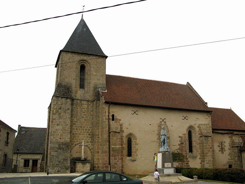 Photo du Monument Historique Eglise Saint-Agnan situé à Saint-Agnant-de-Versillat