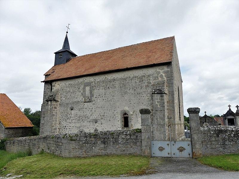 Photo du Monument Historique Chapelle de la Croix-au-Bost situé à Saint-Domet