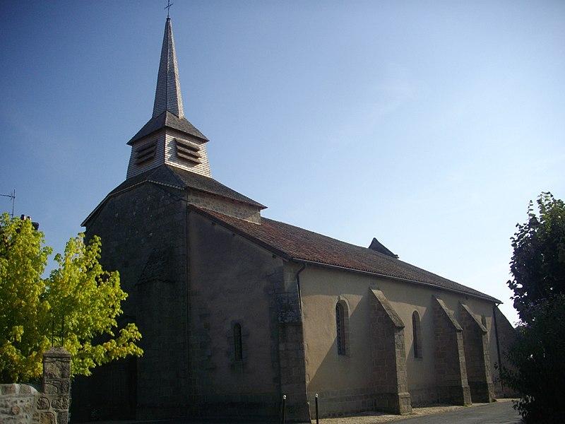Photo du Monument Historique Eglise Saint-Symphorien situé à Sainte-Feyre