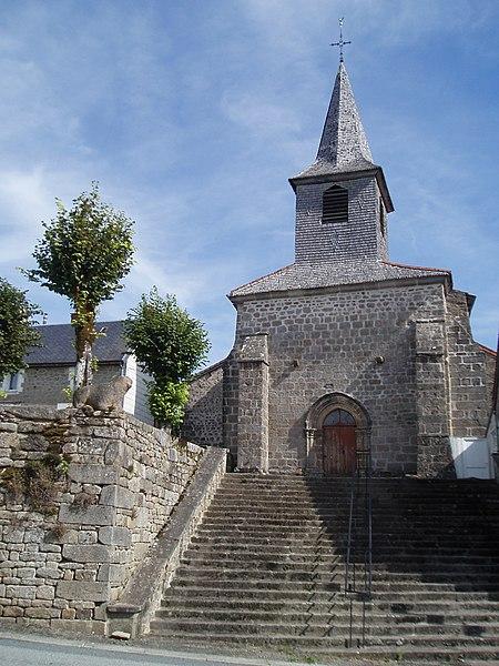 Photo du Monument Historique Eglise Saint-Georges situé à Saint-Georges-la-Pouge