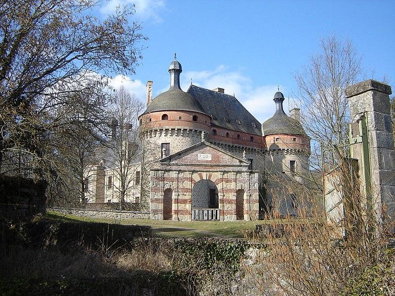 Photo du Monument Historique Château situé à Saint-Germain-Beaupré