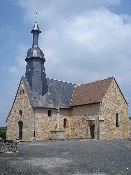 Photo du Monument Historique Eglise Saint-Germain situé à Saint-Germain-Beaupré