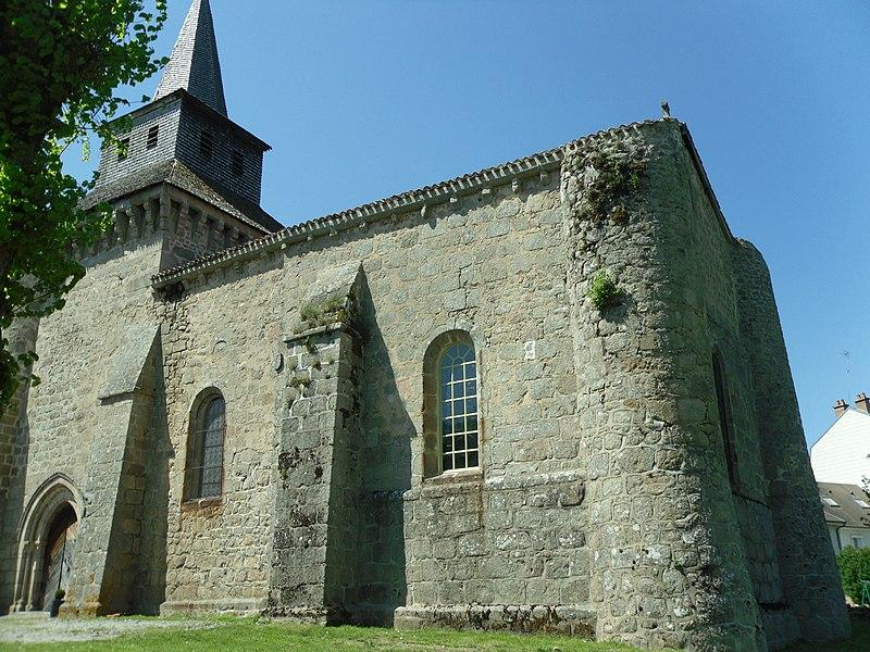 Photo du Monument Historique Eglise Saint-Hilaire situé à Saint-Hilaire-la-Plaine