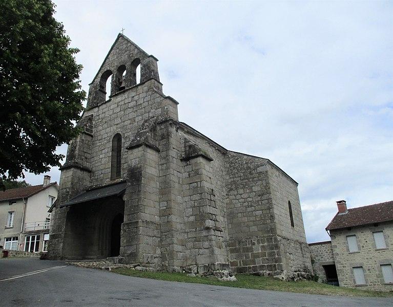 Photo du Monument Historique Eglise Saint-Maurille situé à Saint-Moreil