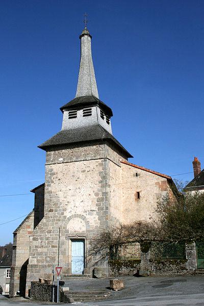 Photo du Monument Historique Eglise Saint-Pierre situé à Saint-Pierre-de-Fursac