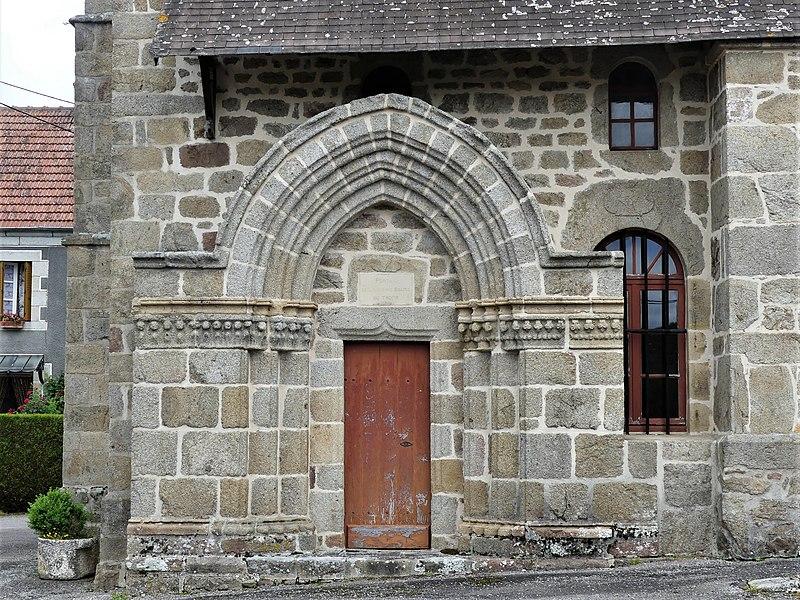 Photo du Monument Historique Ancienne église du Tromps situé à Saint-Priest