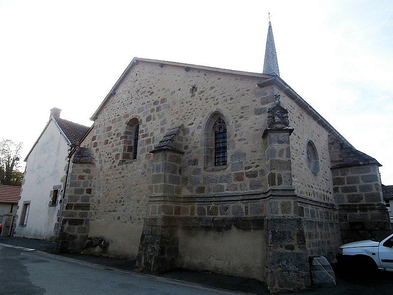 Photo du Monument Historique Eglise Saint-Silvain situé à Saint-Silvain-Montaigut