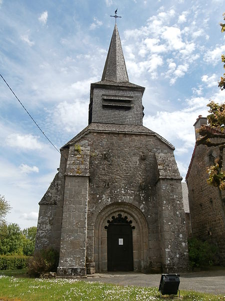 Photo du Monument Historique Eglise de la Nativité de la Très-Sainte-Vierge situé à La Saunière