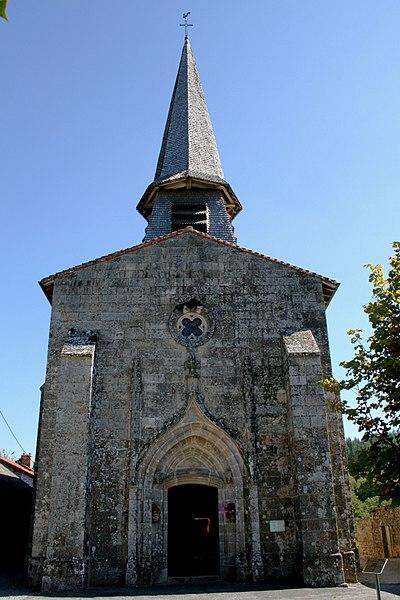 Photo du Monument Historique Eglise de l'Assomption de la Très Sainte-Vierge situé à Soubrebost