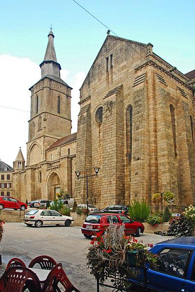Photo du Monument Historique Eglise Notre-Dame situé à Souterraine (La)
