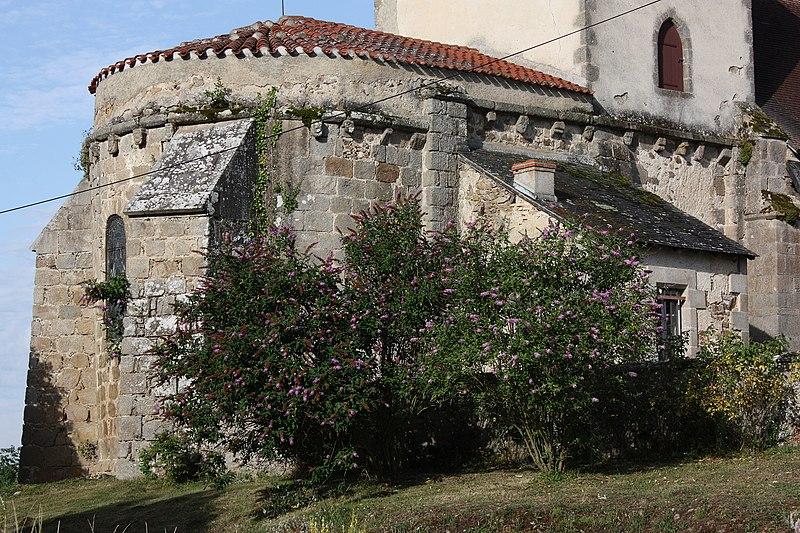 Photo du Monument Historique Eglise de l'Assomption-de-la-Vierge situé à Tardes
