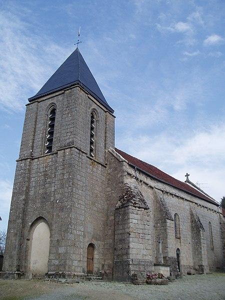 Photo du Monument Historique Eglise Saint-Pardoux situé à Vareilles