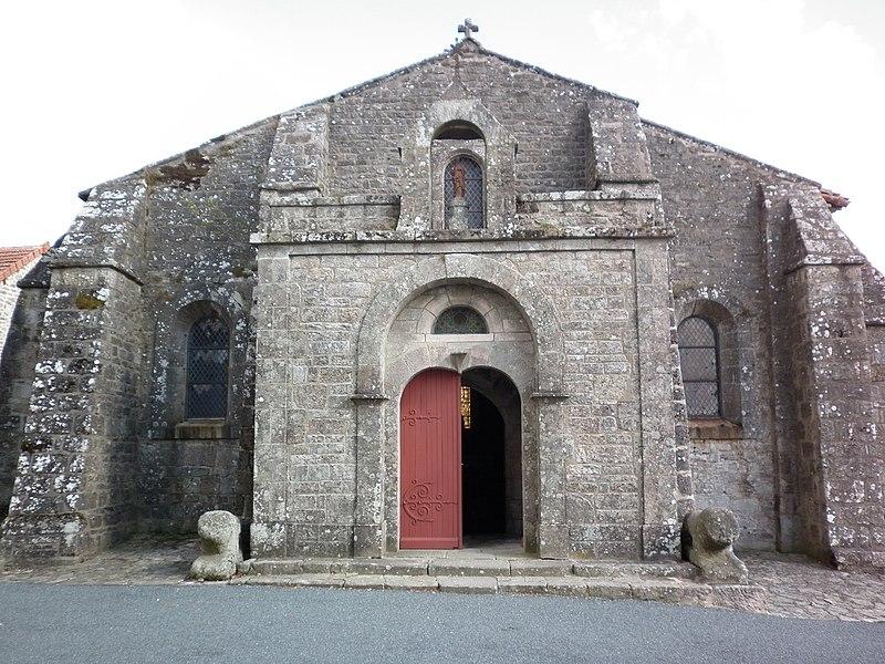 Photo du Monument Historique Chapelle Saint-Martial situé à Toulx-Sainte-Croix