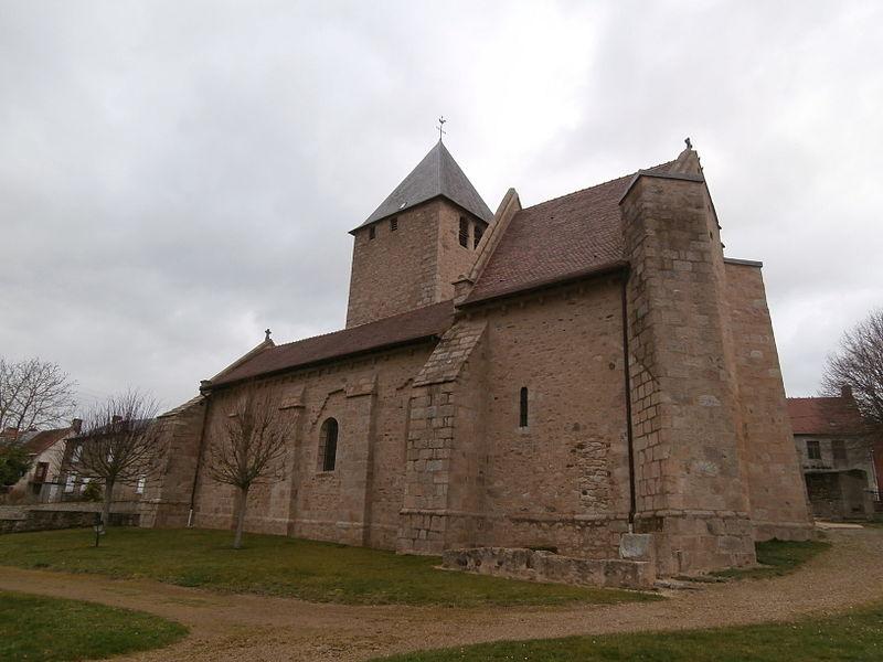 Photo du Monument Historique Eglise Saint-Sulpice situé à Saint-Sulpice-le-Dunois