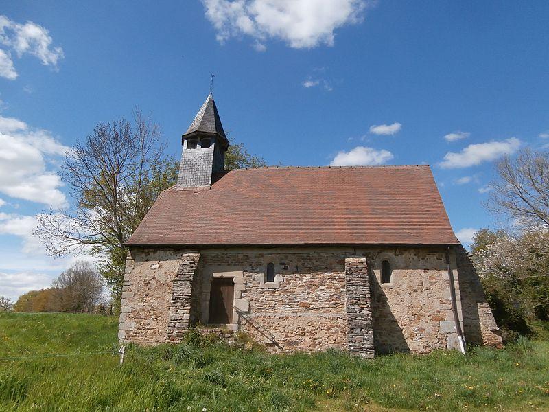 Photo du Monument Historique Chapelle Saint-Gilles, au village des Forges situé à Fresselines