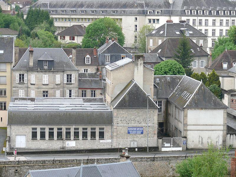 Photo du Monument Historique Manufacture de tapisserie Hamot, puis Saint-Jean situé à Aubusson